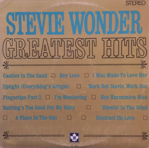 STEVIE WONDER_Greatest Hits