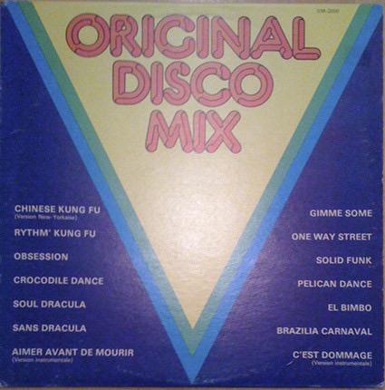 VARIOUS_Original Disco Mix