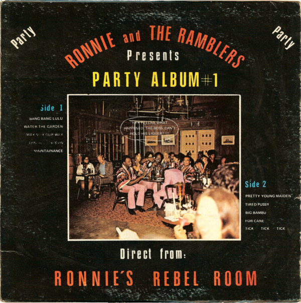 RONNIE AND THE RAMBLERS_Party Album #1