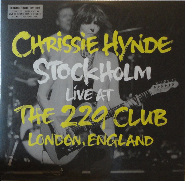 CHRISSIE HYNDE_Stockholm Live At The 229 Club London