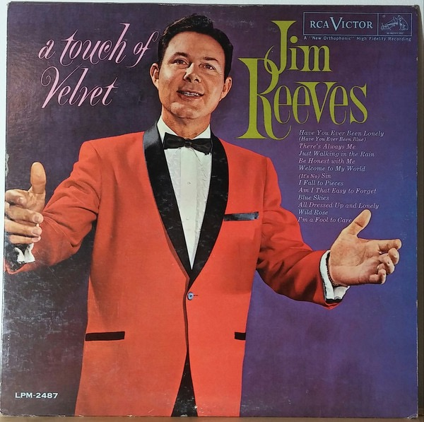 JIM REEVES_A Touch Of Velvet Mono