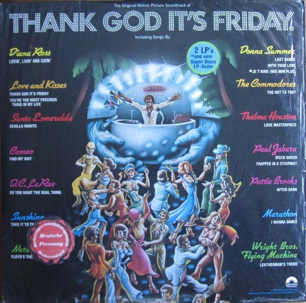 VARIOUS ARTISTS_Thank God Its Friday _Ost_