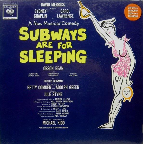 JULE STYNE_Subways Are For Sleeping Ost [Mono, High Fidelity]