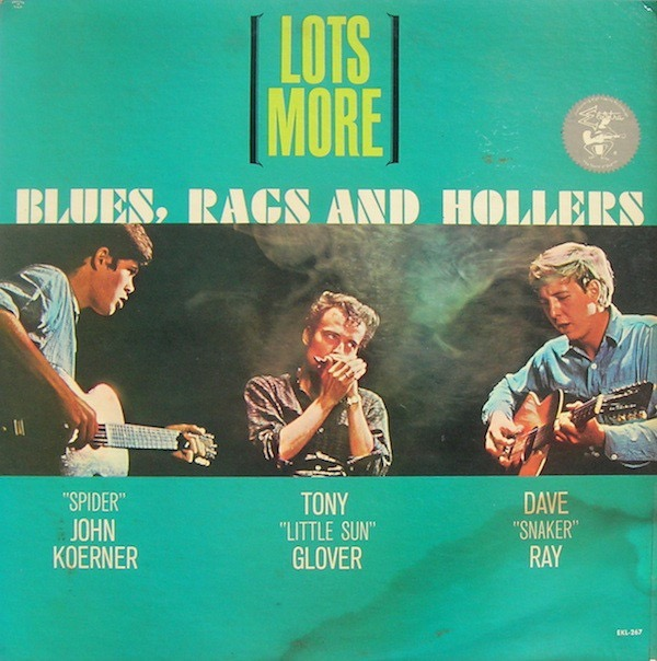 RAY KOERNER_Lots More Blues, Rags And Hollers