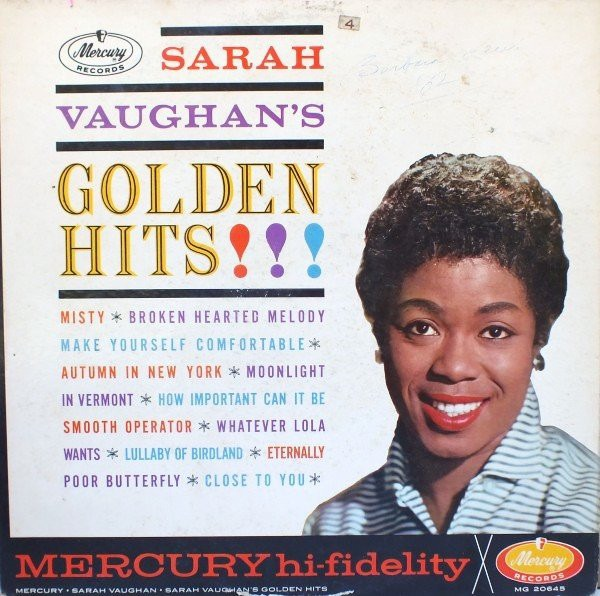 SARAH VAUGHAN_Golden Hits