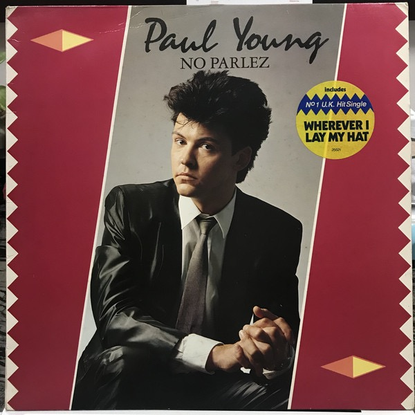 PAUL YOUNG_No Parlez _W/Orig Inner Sleeve_