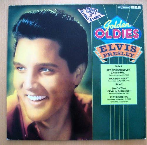 ELVIS PRESLEY_Golden Oldies Pc 60033