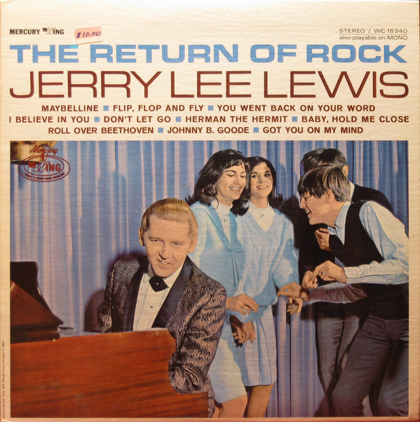 JERRY LEE LEWIS_The Return Of Rock