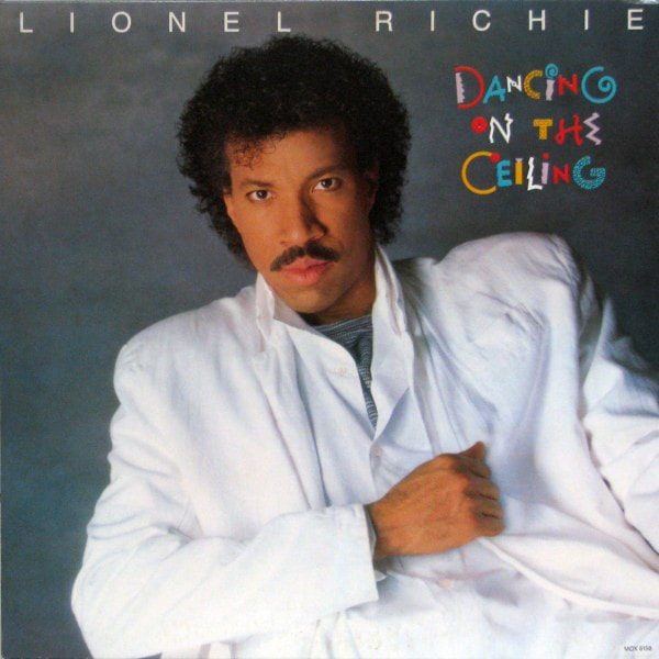 LIONEL RITCHIE_Dancing On The Ceiling _W/ Printed Inner Sleeve_