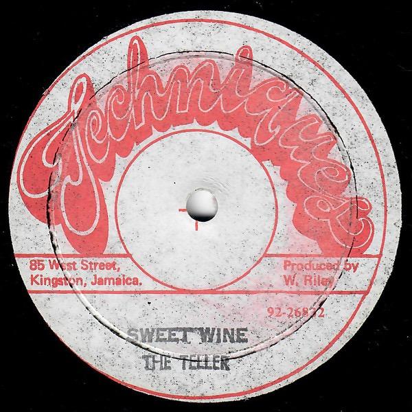 THE TELLERS_Sweet Wine / Gelly Girl