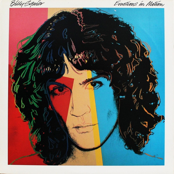 BILLY SQUIER_Emotions In Motion _W/Orig Inner Sleeve_