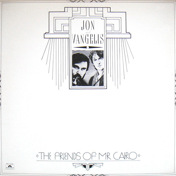 JON AND VANGELIS_The Friends Of Mr. Cairo _W/Orig Inner Sleeve_