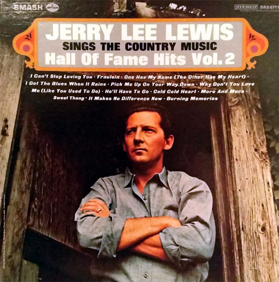JERRY LEE LEWIS_Sings The Country Music Hall Of Fame Hits Vol. 2