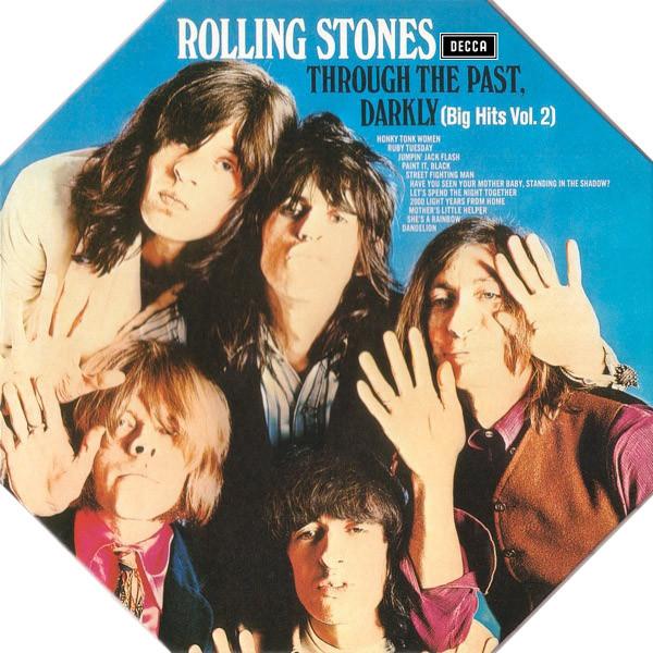 ROLLING STONES_Through The Past, Darkly Big Hits Vol 2 Octagon Cover/Orange Vinyl