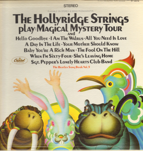 STRINGS HOLLYRIDGE_The Beatles Song Book - Vol 5