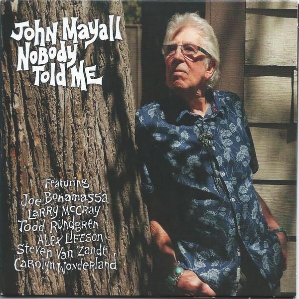JOHN MAYALL_Nobody Told Me