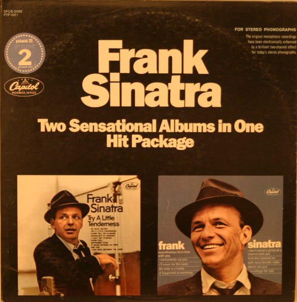 FRANK SINATRA_Try A Little Tenderness / Nevertheless I'm In Love With You