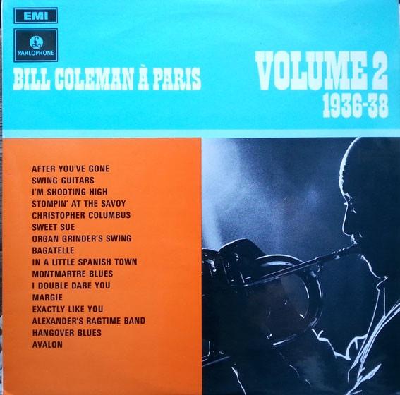 BILL COLEMAN_Bill Coleman A Paris 1936-38 Volume 2 [RARE MONO]