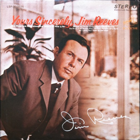 JIM REEVES_Yours Sincerely, Jim Reeves