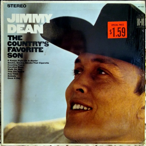JIMMY DEAN_The Countrys Favorite Son