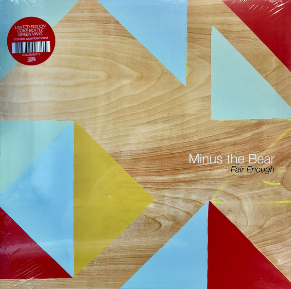 MINUS THE BEAR_Fair Enough (45 RPM, EP, Limited Edition, Green, Coke Bottle)