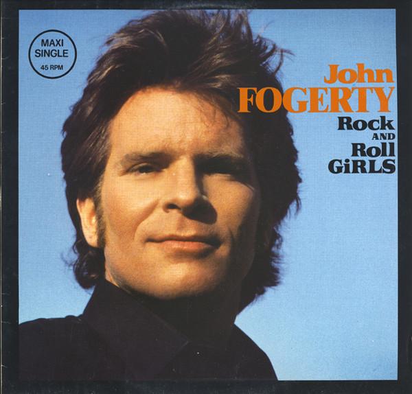 JOHN FOGERTY_Rock And Roll Girls / Centerfield _2-Cut Maxi Single_