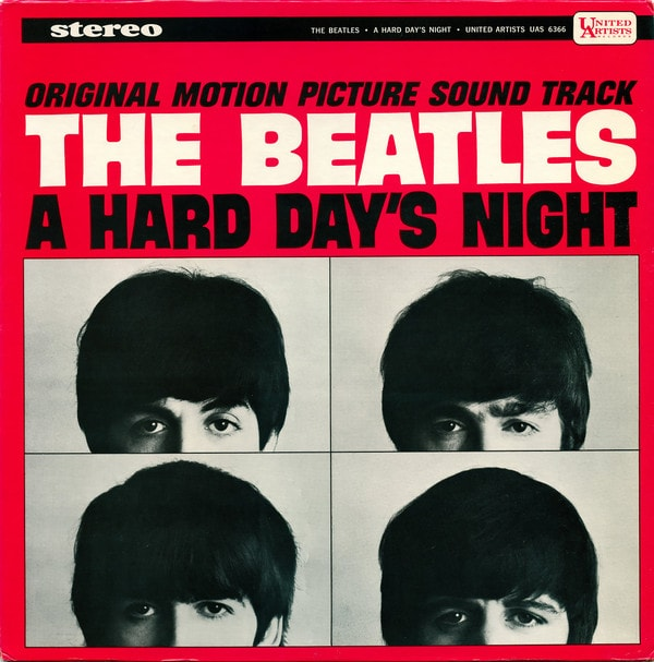 THE BEATLES_A Hard Days Night _Soundtrack 1964/Original Inner Sleeve_