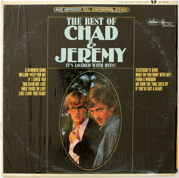 CHAD AND JEREMY_The Best Of Chad And Jeremy