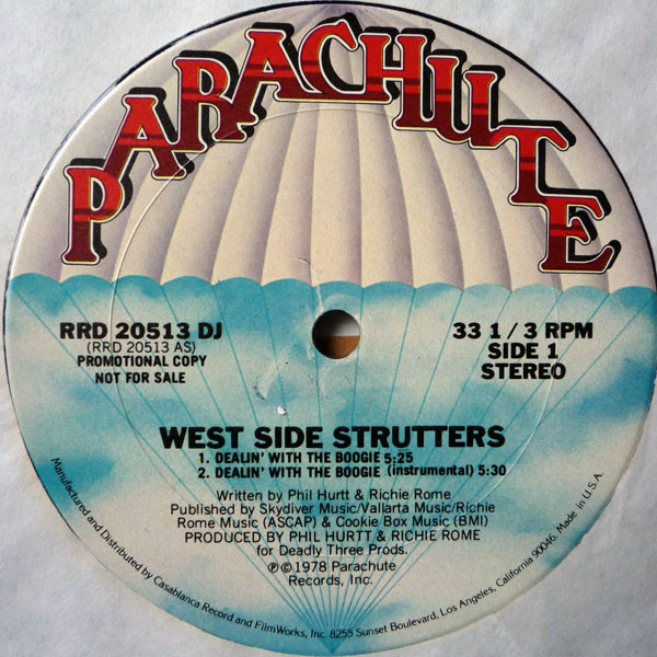 WEST SIDE STRUTTERS_Dealin' With The Boogie