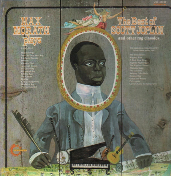 MAX MORATH_Max Morath Plays The Best Of Scott Joplin And Other Rag Classics