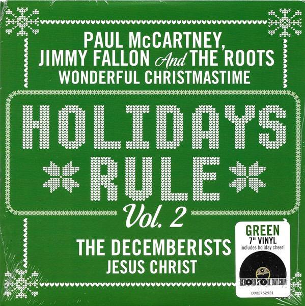 PAUL MCCARTNEY, JIMMY FALLON AND THE ROOTS / THE DECEMBERISTS_Wonderful Christmastime / Jesus Christ