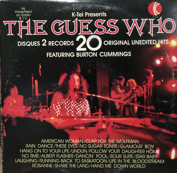 THE GUESS WHO_20 Greatest Hits