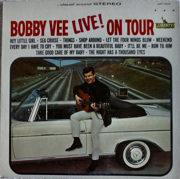 BOBBY VEE_Live! on Tour (mono)