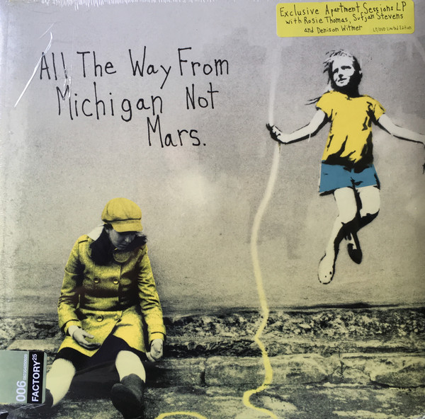 ROSIE THOMAS_All The Way From Michigan Not Mars. _Lp, Dvd, Ltd Ed._ [Sealed]