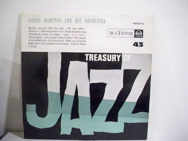 LIONEL HAMPTON_Treasury Of Jazz