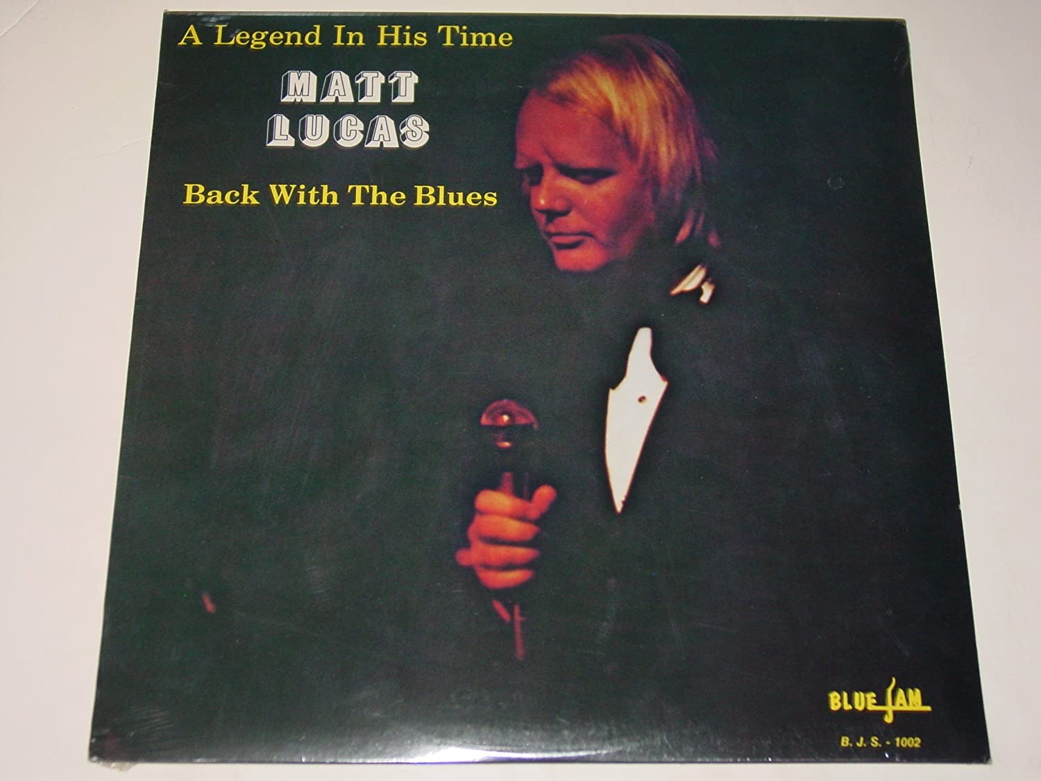 MATT LUCAS_A Legend In His Time: Back With The Blues