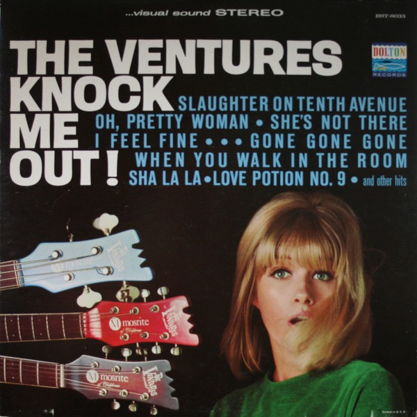 THE VENTURES_The Ventures Knock Me Out! _Stereo_