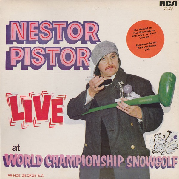 NESTOR PISTOR_Live At World Championship Snowgolf _W/Orig Rca Inner Sleeve_