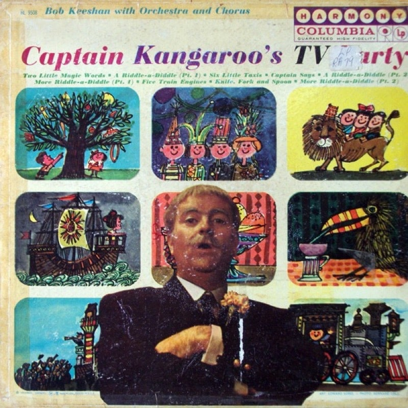 BOB KEESHAN_Captain Kangaroos TV Party