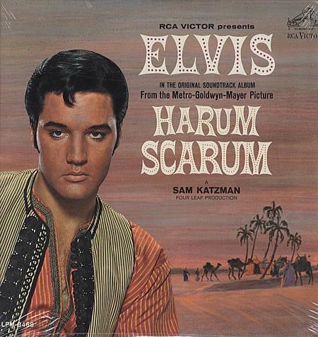 ELVIS PRESLEY_Harum Scarum _Mono_