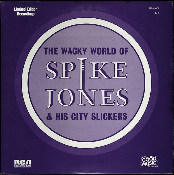 SPIKE JONES_The Wacky World Of _Sealed_