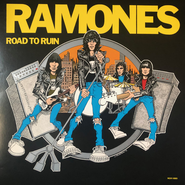 THE RAMONES_Road To Ruin 40th Anniversary Edition On Blue Vinyl