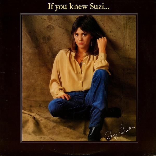 SUZI QUATRO_If You Knew Suzi