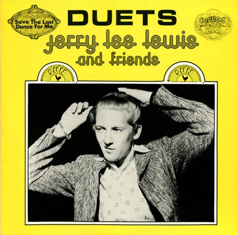 JERRY LEWIS_Duets Mono