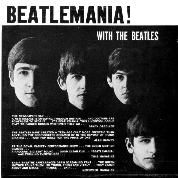 THE BEATLES_Beatlemania! With The Beatles _1966 Repress, Mono, Rainbow Label_