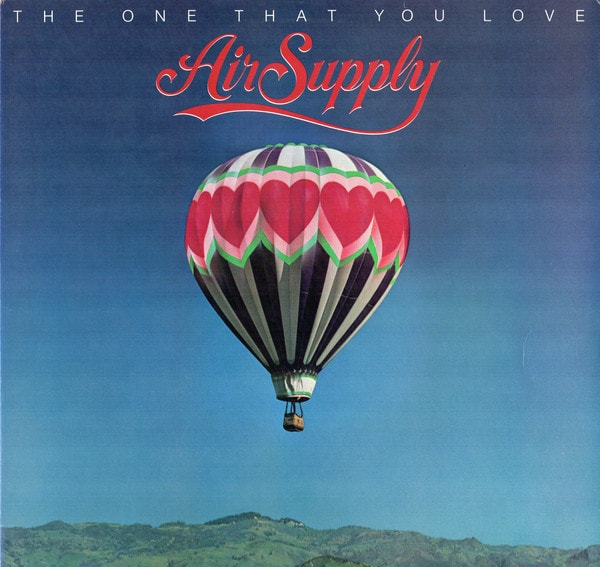 AIR SUPPLY_The One That You Love (w/printed inner sleeve)
