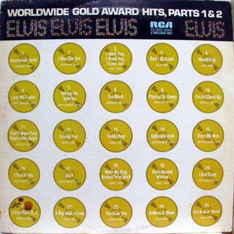 ELVIS PRESLEY_Elvis' Worldwide Gold Award Hits