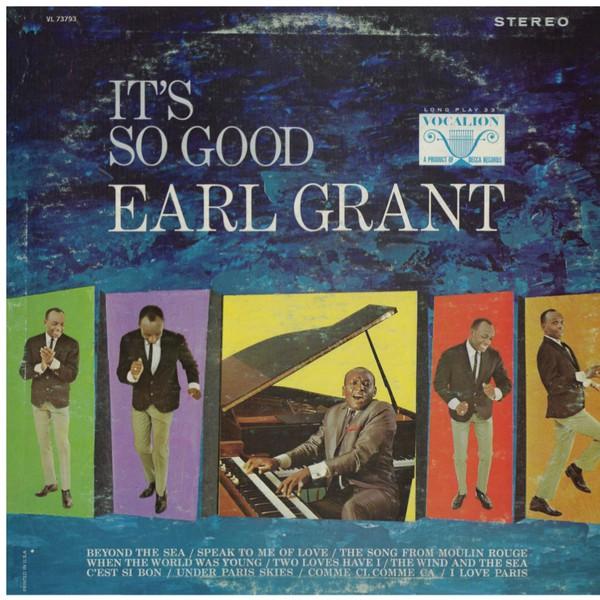 EARL GRANT_It's So Good