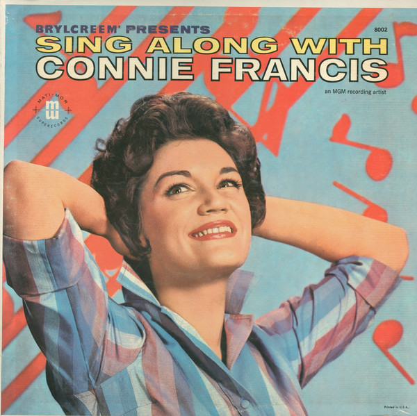 CONNIE FRANCIS_Sing Along With Connie Francis