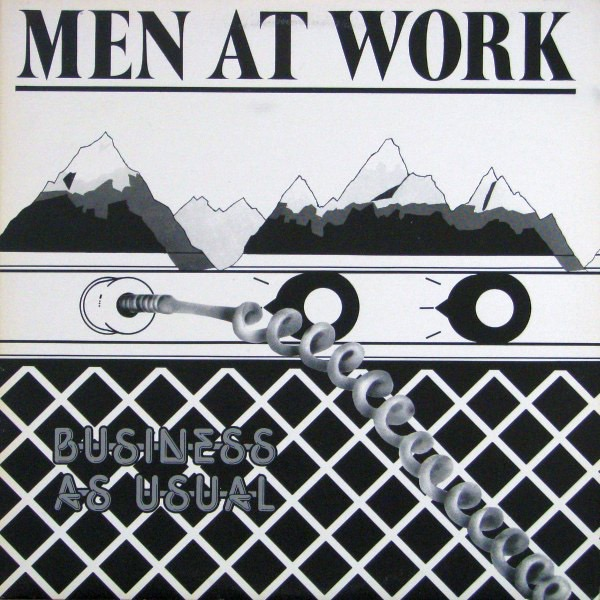 MEN AT WORK_Business As Usual White